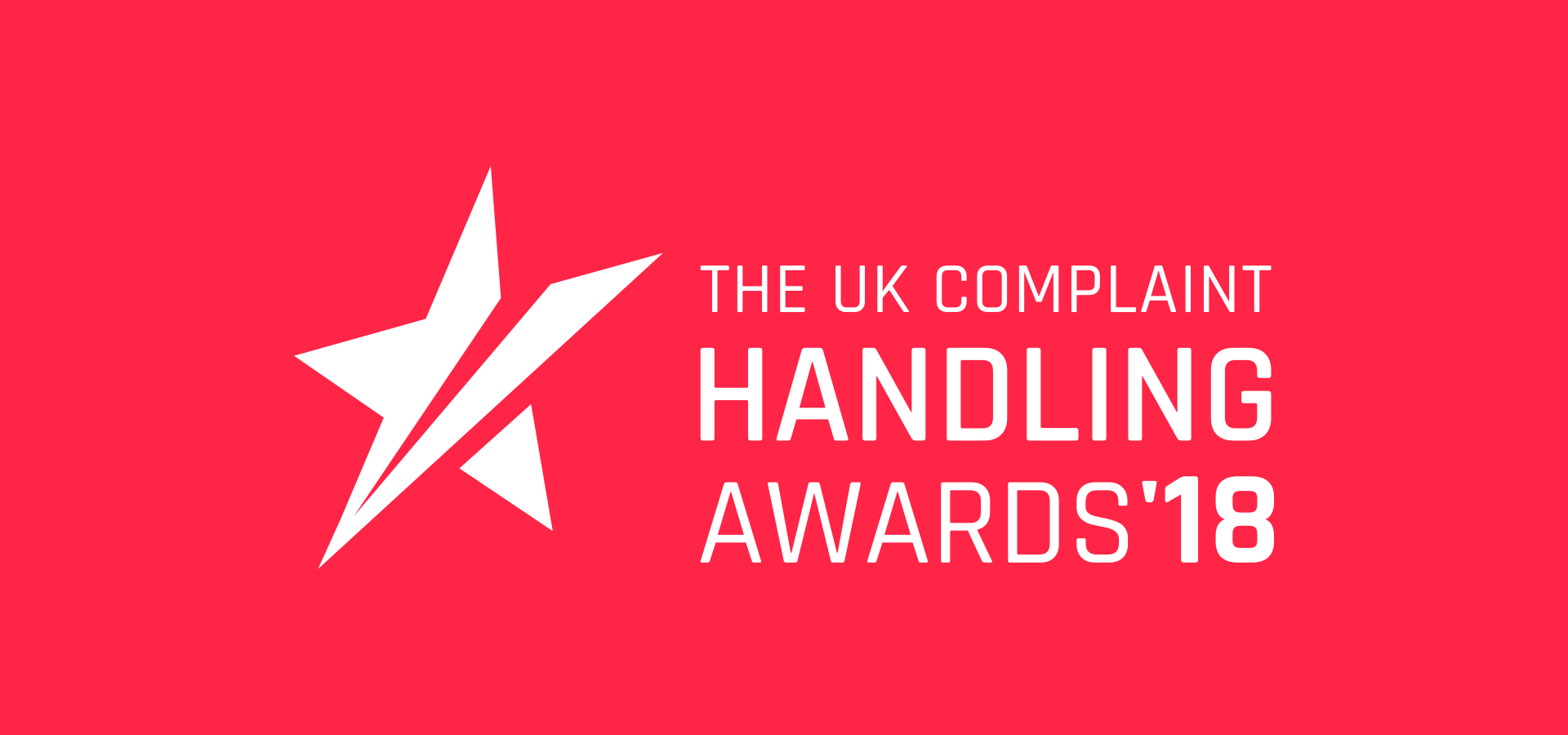 The UK Complaint Handling Awards 2018