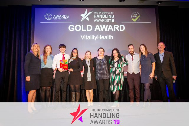 Win-Win ing at the UK Complaint Handling Awards