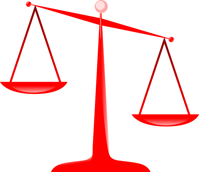 Price Factor E-Commerce - The Scales of Justice