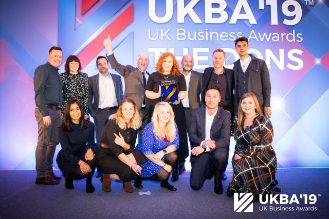 UK Business Awards - Overall Winner Strata